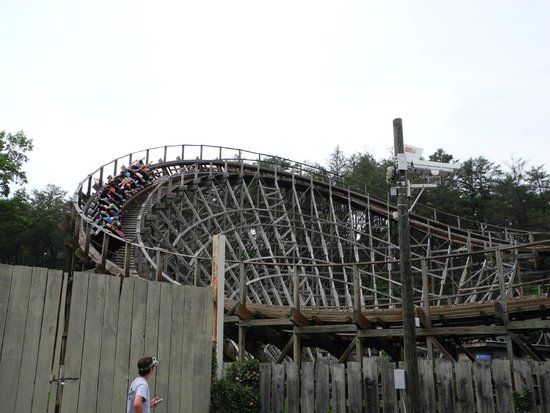 Dollywood Wooden Coaster Picture Of Dollywood Pigeon Forge