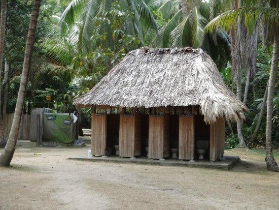 Camping Tayrona: Baños