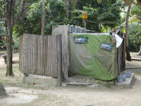 Camping Tayrona: Duchas