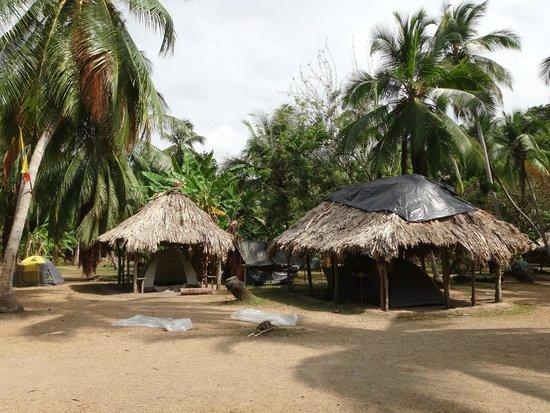 Camping Tayrona: Zona de carpas