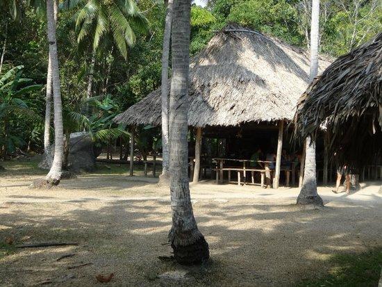 Camping Tayrona: Bar- comedor