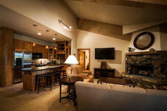 Stein Eriksen Lodge Deer Valley : Living Room