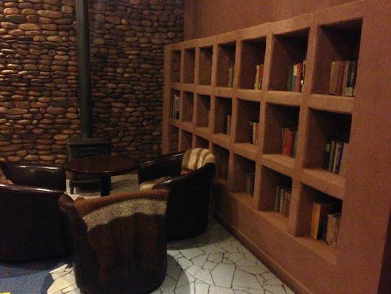 Lodge Andino Terrantai: Reading room