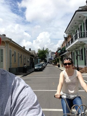 The American Bicycle Rental Company: Biking in the french quarter