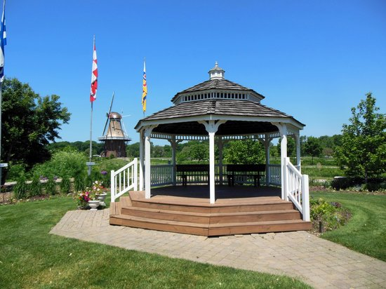 Windmill Island Gardens: Holland Windmill Island Gazebo