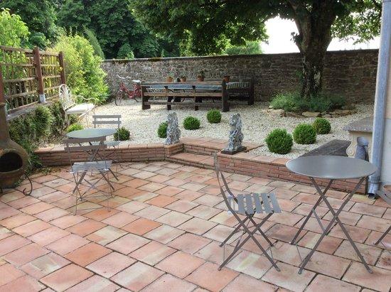 Chateau de Roussac : Pellegrini courtyard
