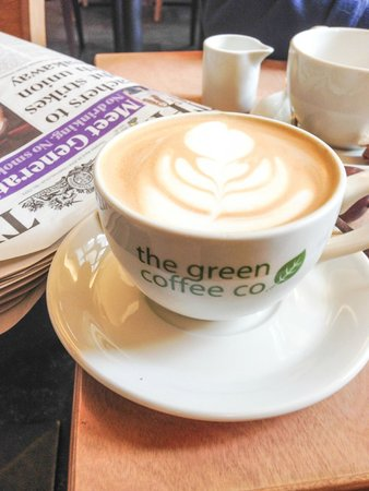 The Green Coffee Company: Coffee and free papers