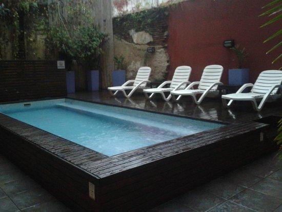 Circus Hostel & Hotel : Pool Area.