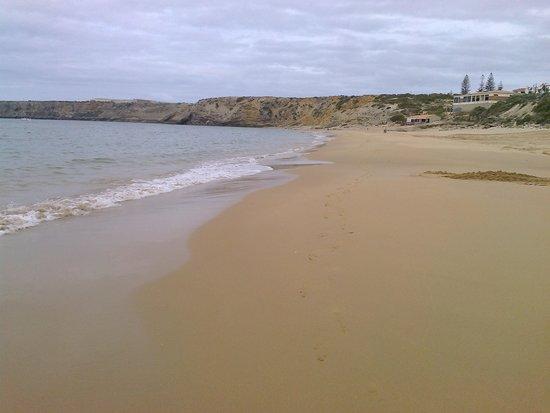 Pousada Sagres : A praia sobranceira á pousada