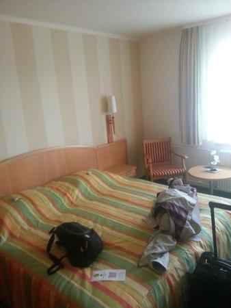 Berghotel Bastei: Room 208 Rock View Room