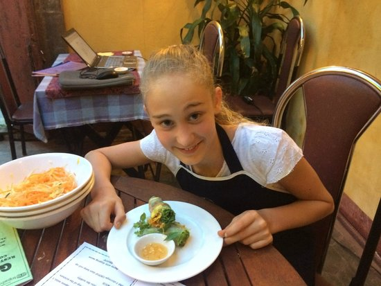 Gioan Cooking Class: Delicious!