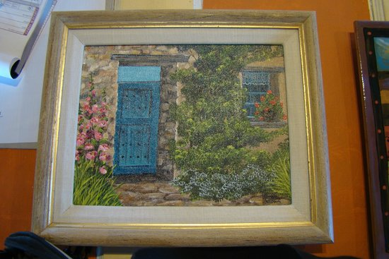 Genuine Southwest Art u0026 Gifts Painting with turquoise door & Painting with turquoise door - Picture of Genuine Southwest Art ...