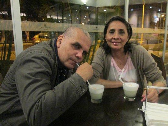 Casa Andina Select Chiclayo : Un delicioso aperitivo antes de cenar
