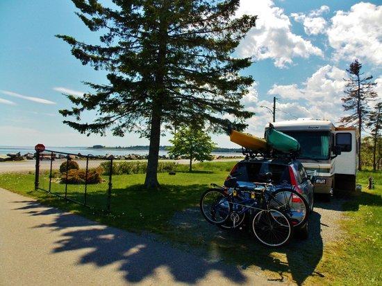 Kiwanis Oceanfront Camping: Great ocean view