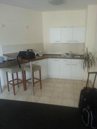 Apartments an der Frauenkirche: Apartment 308 kitchen area