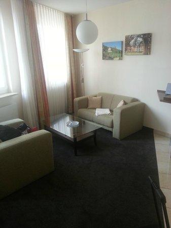 Apartments an der Frauenkirche: Apartment 308 living room