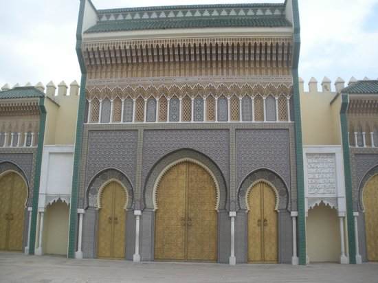 Royal Palace of Fez (Dar el Makhzen) : King's Palace doors