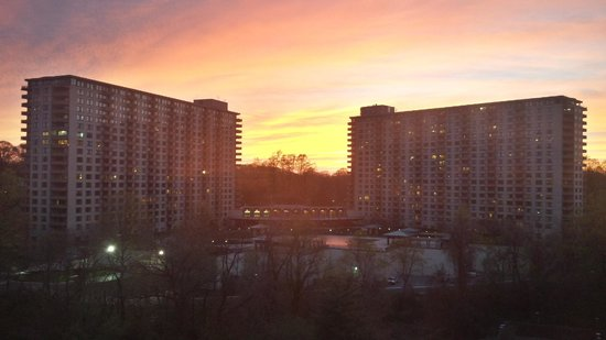 Bethesda Marriott : The view from my room