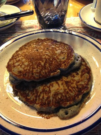 Inn at Halona: Blue Corn Pancakes