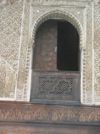 Medersa Bou Inania : Stone work