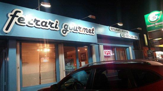 Ferrari Gourmet : The outside of the restaurant
