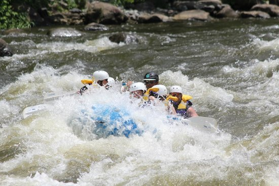 Wildwater Adventures: White water rafting on the Upper Pigeon River with Jason