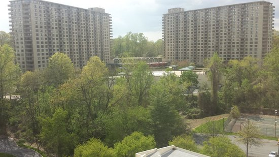 Bethesda Marriott : My view form the room in the tower