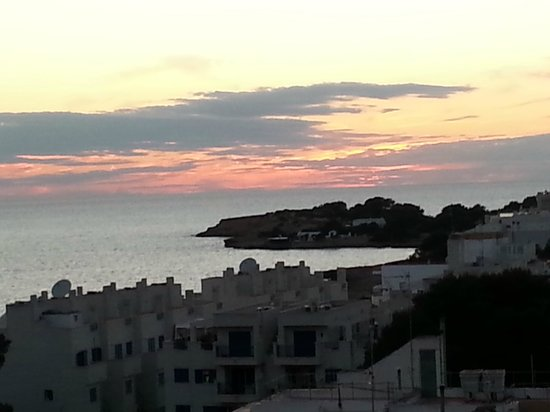 Hotel Abrat: View from balcon