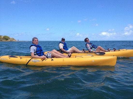 Virgin Kayak Tours: GREAT DAY!