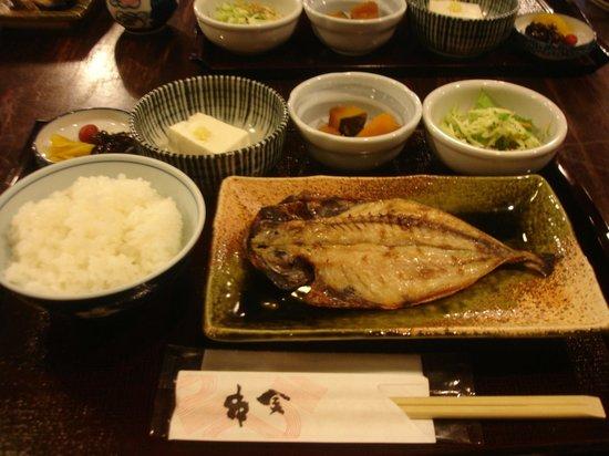 Ueno Touganeya Hotel: Breakfast