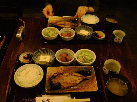 Ueno Touganeya Hotel: Breakfast!