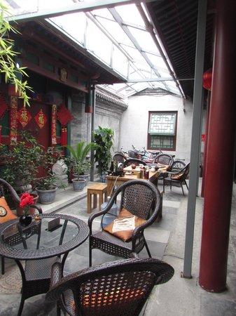 Beijing Sihe Courtyard Hotel: tea room