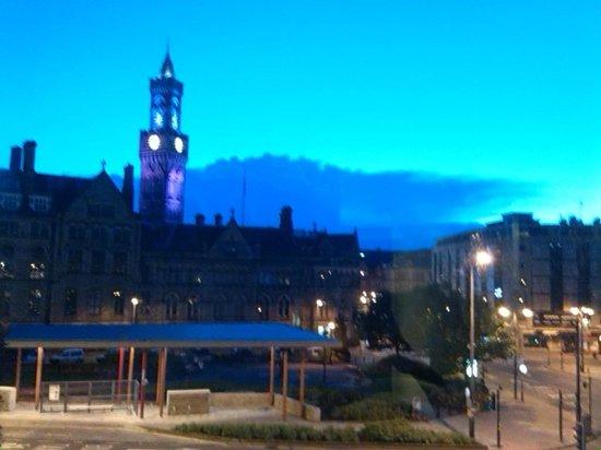 The Bradford Hotel: panorama dalla mia camera al tramonto: da urlo!!!
