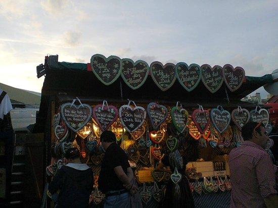 Theresienwiese: galletas de jengibre