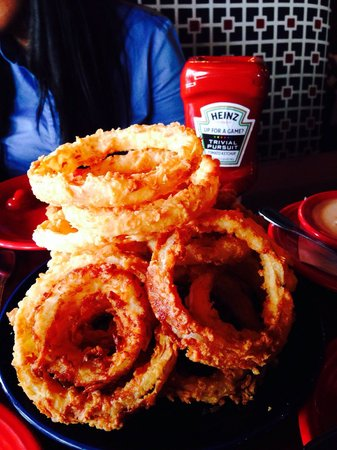 Square 1: Mountain of Onion Rings