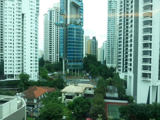 Pan Pacific Orchard: View from room