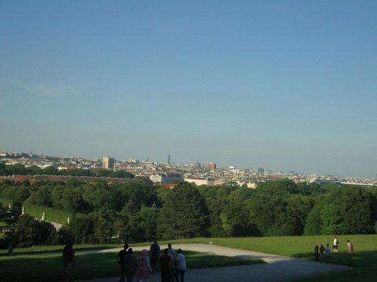 Schloss Schönbrunn: Vista para a cidade