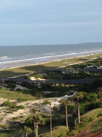 The Ritz-Carlton, Amelia Island: View from coastal view room