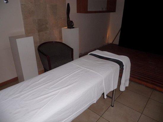 Huentala Hotel: Sala de masajes