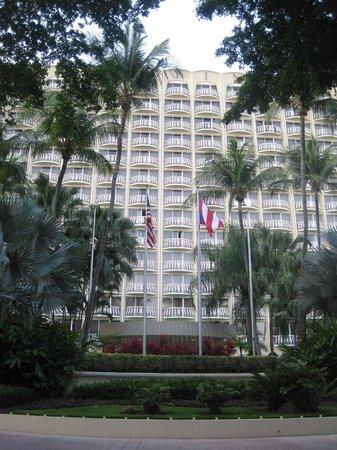 InterContinental San Juan: Front of the hotel