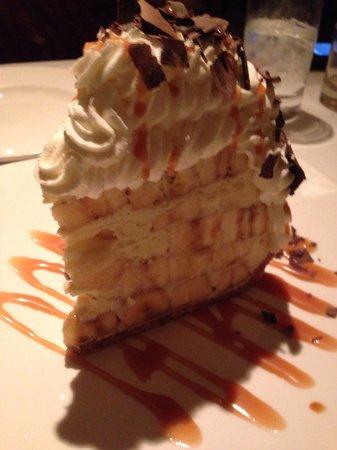 Delmonico Steakhouse : Unreal banana dessert
