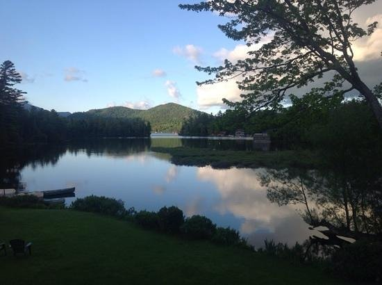 Wildwood on the Lake: This was the view from our balcony. It doesn't get better than this.