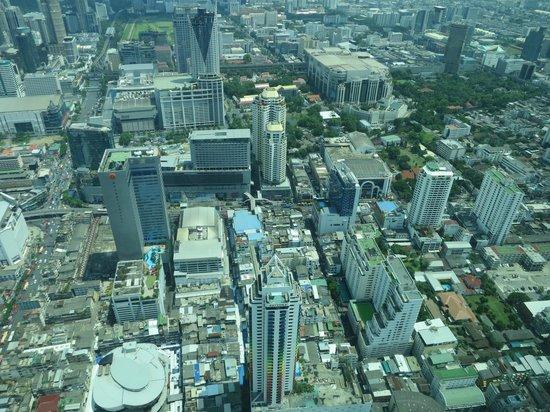 Baiyoke Sky Hotel: view from sky zone