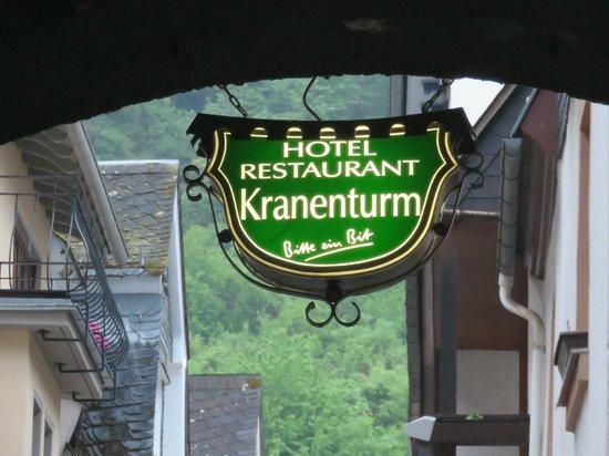 Approaching Hotel Kranenturm