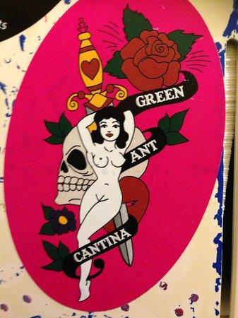 Green Ant Cantina: logo