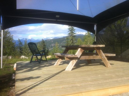 Whistler RV Park & Campgrounds: Glamping spot