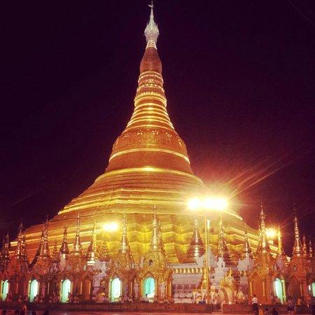 Shwedagon Pagoda: The stunning main golden pagoda