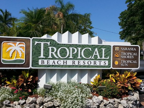 Tropical Beach Resorts June 2014 - Sign