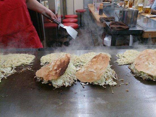 Okonomimura : 八昌のお好み焼