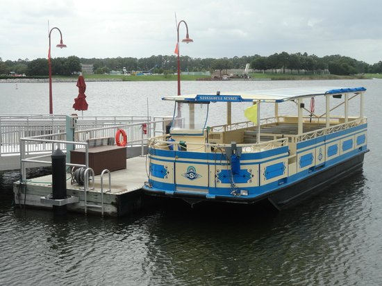 Disney Springs : Water Taxi to resorts